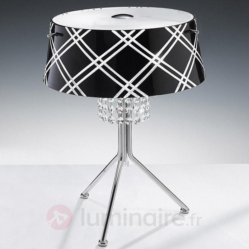 Belle lampe à poser MEDUSA à 2 lampes - Lampes à poser en cristal