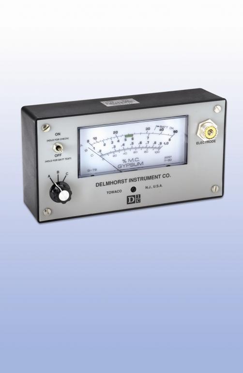 Moisture meter - Inspection - G-79 gypsum