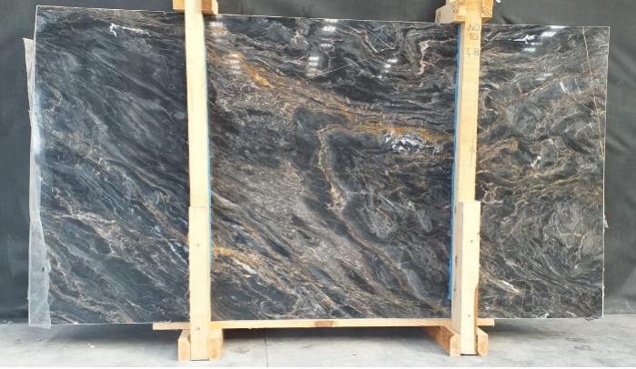 BLACK/GOLDEN RIVER MARBLE - 2 cm slab, 3 cm slab, cut-to-size tile
