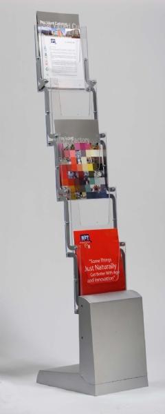 Brochure Sets - Porte Brochures Newage Zickzack Portable