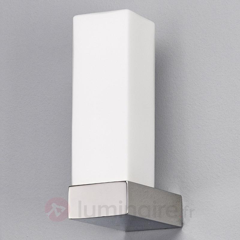 Applique pour salle de bains Norik IP44 - Appliques chromées/nickel/inox
