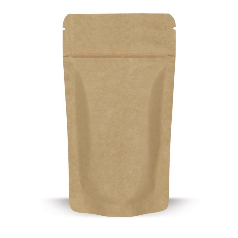Standbodenbeutel Kraftpapier