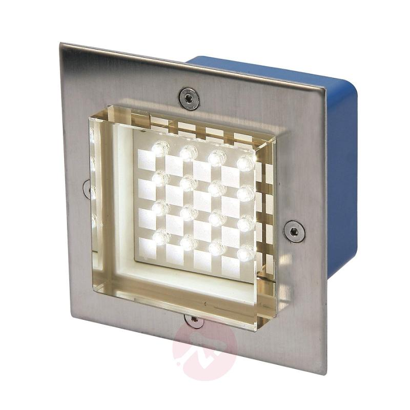 Finn LED recessed wall light, warm white - outdoor-led-lights