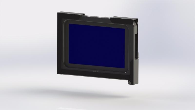 Tablet-Halterung für Aava Mobile Inari 8, Rugged Frame... - Scannerhalter