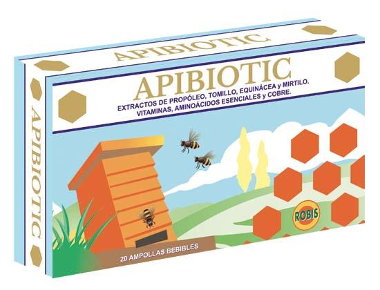 Apibiotic - REINFORCES THE DEFENSES NATURAL ANTIBIOTICS