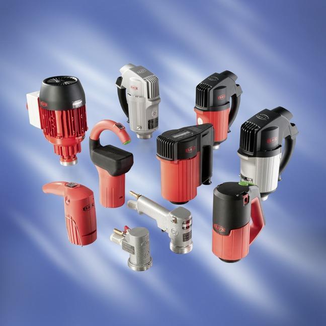 Motoren - Für die FLUX Fasspumpen der Baureihen F 300, F 400 und F 500