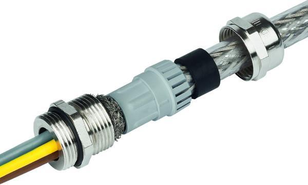 PERFECT EMC prensaestopas de latón rosca Pg - PERFECT EMC prensaestopas de latón niquelado  on rosca de Pg 7 hasta Pg 48