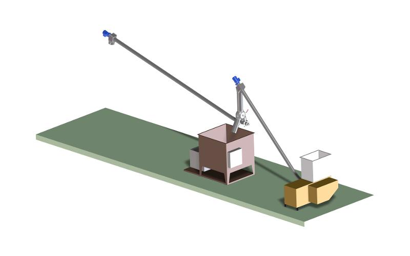 Hacker discharging - Hacker discharging with press and switch