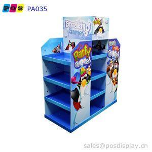 cardboard POP pallet display - 4 sides cardboard pallet display for toys