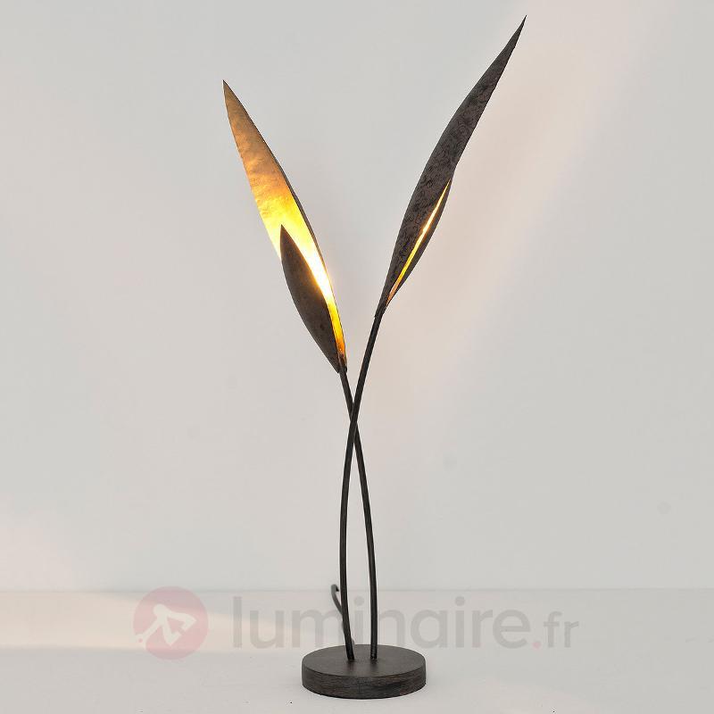 Fine lampe à poser de 63 cm de haut Strelitzia - Lampes à poser rustiques