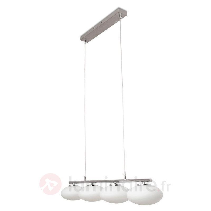 Suspension Melody à quatre lampes - Cuisine et salle à manger