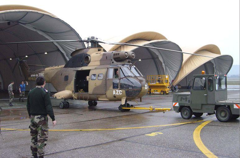Structures et Bâtiments à déploiement rapide - Opérations militaires
