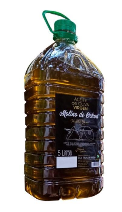 ACEITE DE OLIVA VIRGEN MOLINO DE OCHOA - GARRAFA 5L