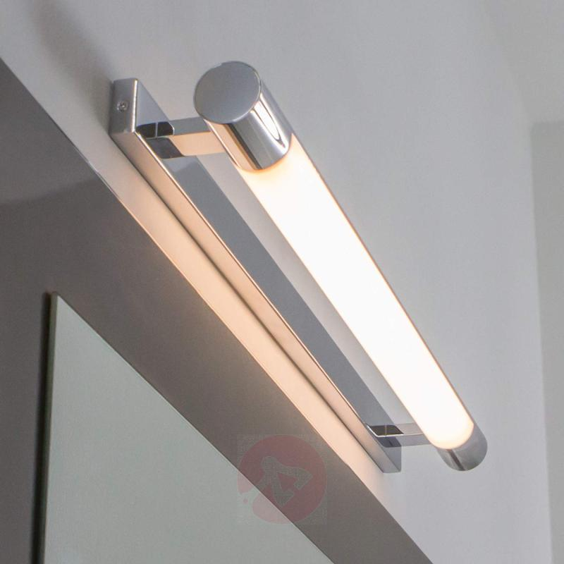 Attractive Neal bathroom wall lamp with LEDs - indoor-lighting