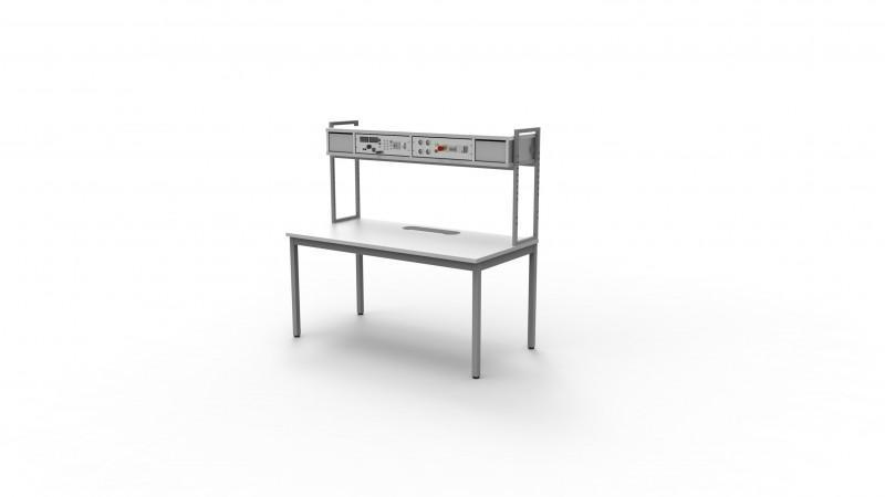 BASIS-Tischaufbau - Tischaufbau, verschiedene Aufbauvarianten