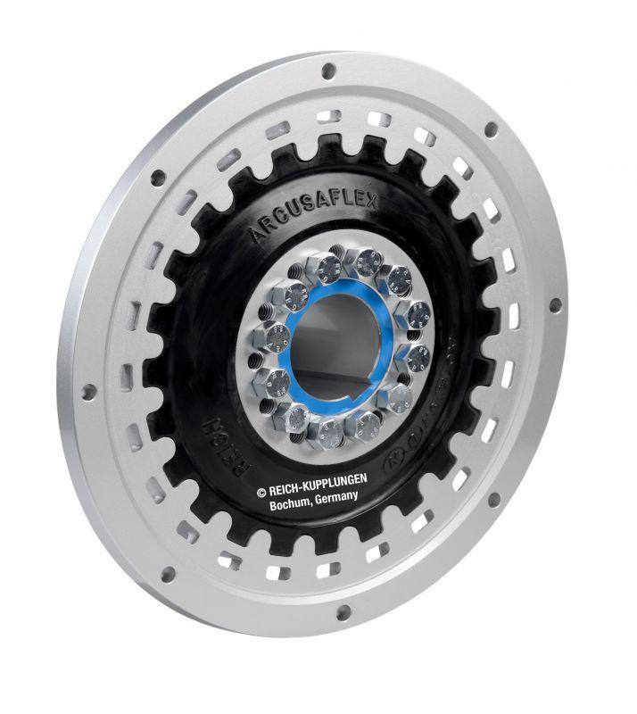 ARCUSAFLEX | AC - Acoplamiento de disco de goma de alta elasticidad para motores de combustión