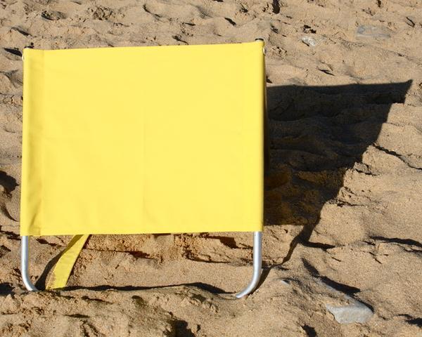 Siege/dossier pour la plage, la piscine, ou la campagne. -