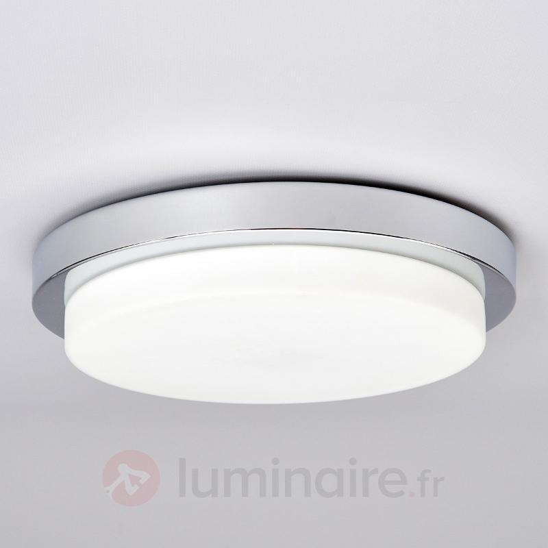 Plafonnier LED pour salle de bains Adriano - Plafonniers LED