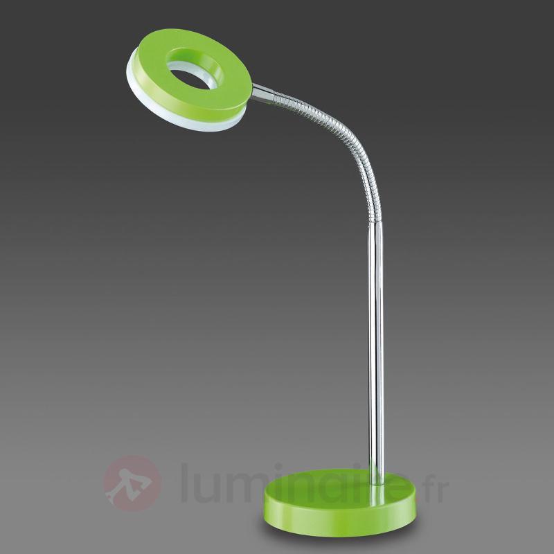 Lampe à poser LED Rennes, vert - Lampes de bureau LED