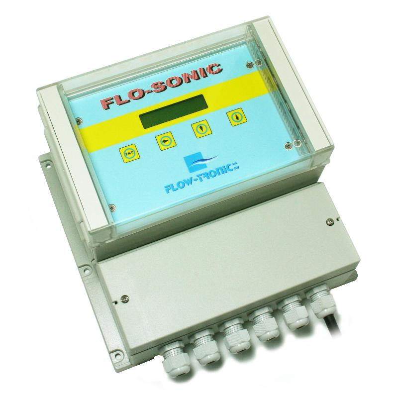 Ultrasonic Transit-Time Open Channel Flowmeter