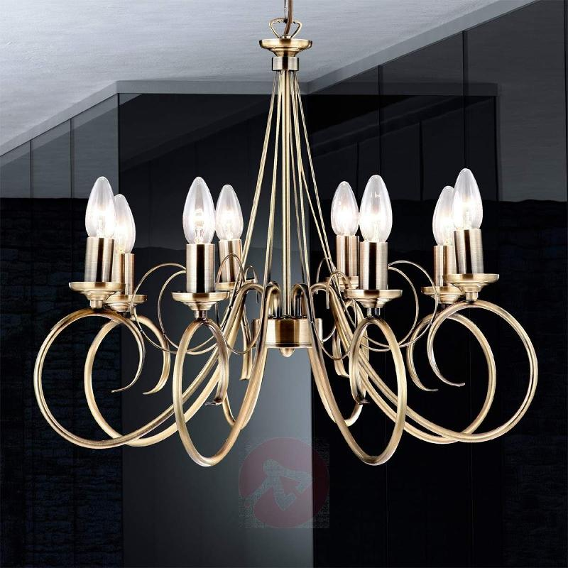TRUNCATUS 8 Lamp Mood-filled Pendant Lamp - Pendant Lighting