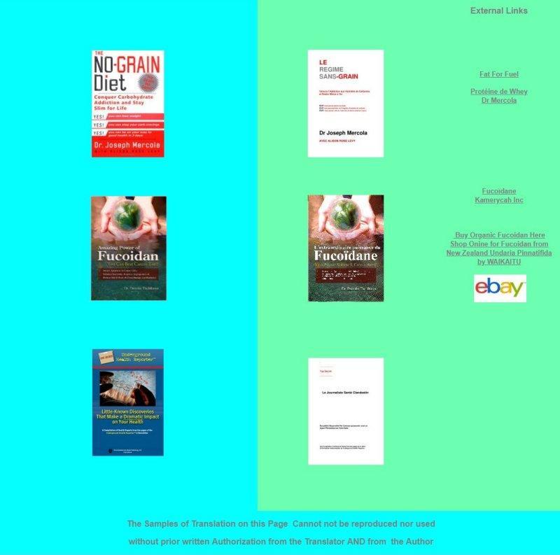 Traduction de Livres catégorie Médecine [Anglais-->Français] - Traduction de Livres de l'Anglais vers le Français