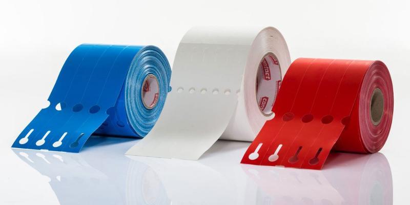 Etiketten für Industrie & Handel - Schlaufen- und Stecketiketten