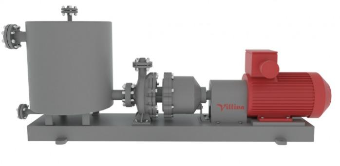 HORIZONTAL PUMPS - THE SELF-PRIMING CENTRIFUGAL PUMPS WITH MAGNETIC COUPLINGS