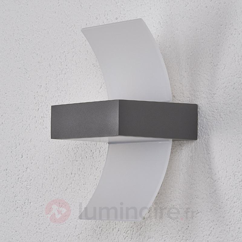 Applique d'extérieur LED Skadi courbée - Appliques d'extérieur LED