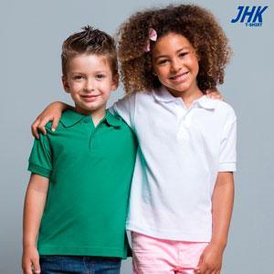 KID POLO - REF: PKID210 Polo piqué infantil de manga corta, unisex