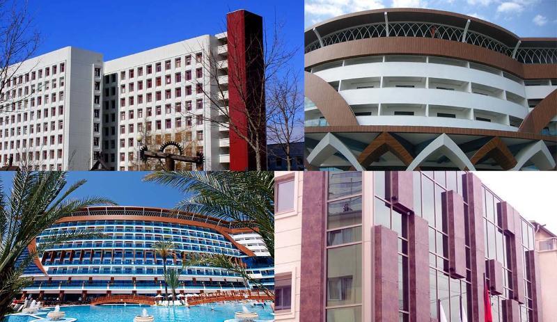 Hôtels et Centres d'affaires - Construction