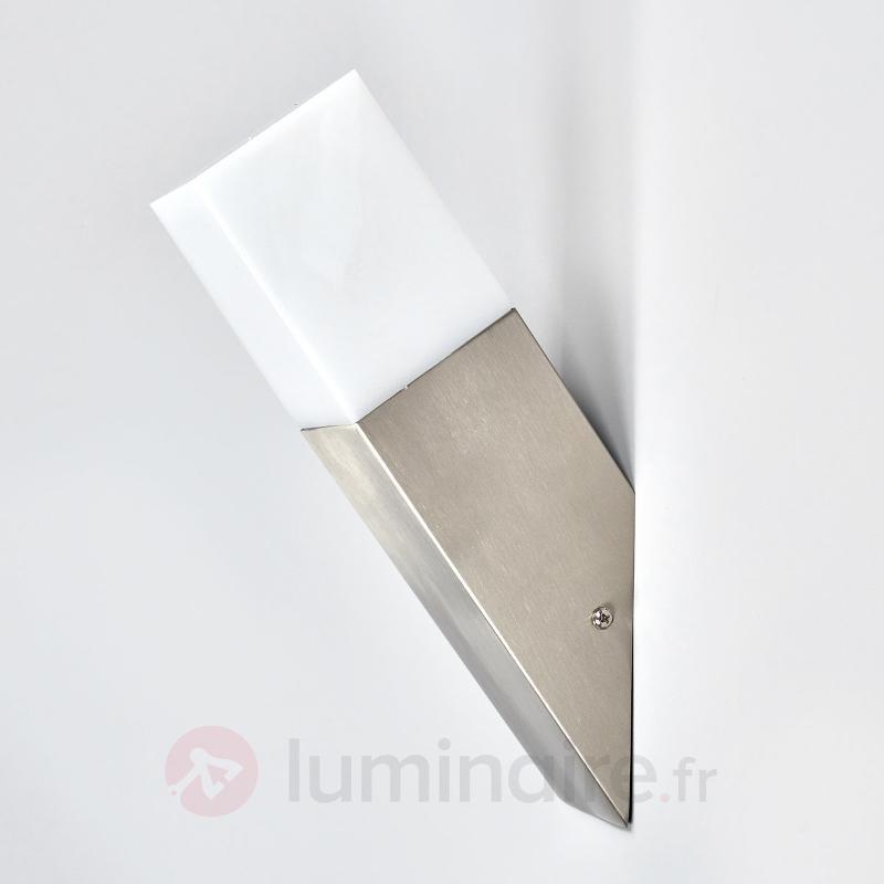 Torche murale rectangulaire LED pr ext. - Appliques d'extérieur LED