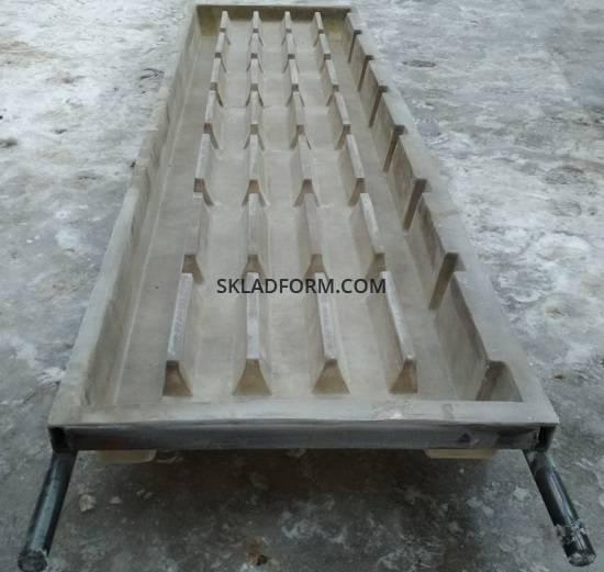 Форма для щелевого пола - Форма для производства бетонного щелевого пола для свинарников
