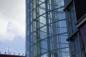 Mur rideau de verre -