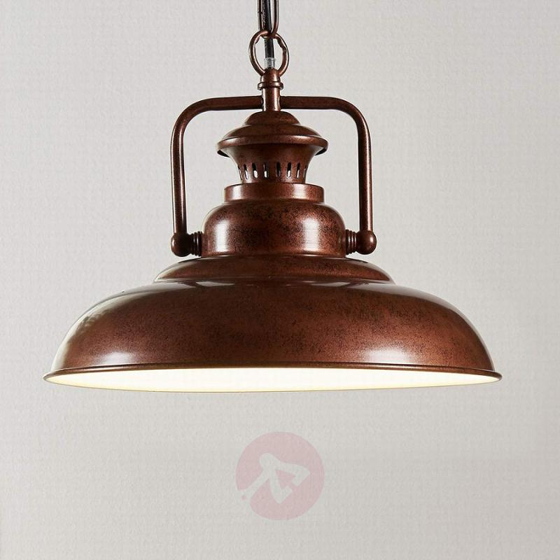 Pendant light Nico in an industrial style - indoor-lighting