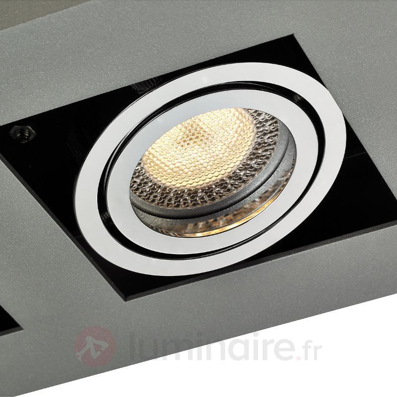 Plafonnier LED Vince à 4 lampes - Plafonniers LED