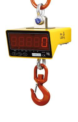 Pesons électroniques à affichage numérique - pour charge de 200 à 32 000 kg