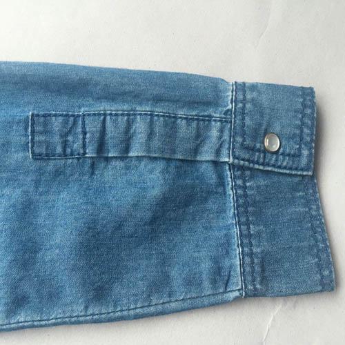 Camisa de mezclilla para mujer - Camisa de mezclilla azul