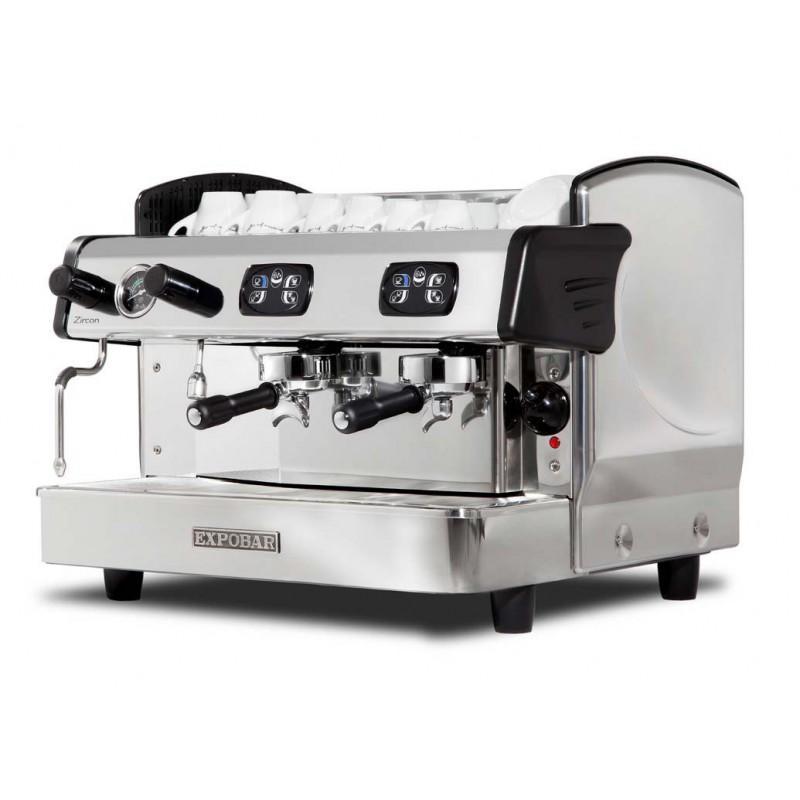 MACHINE A CAFE PROFESSIONNELLE, 2 GROUPES, AUTOMATIQUE - Référence A2-ZIRCON