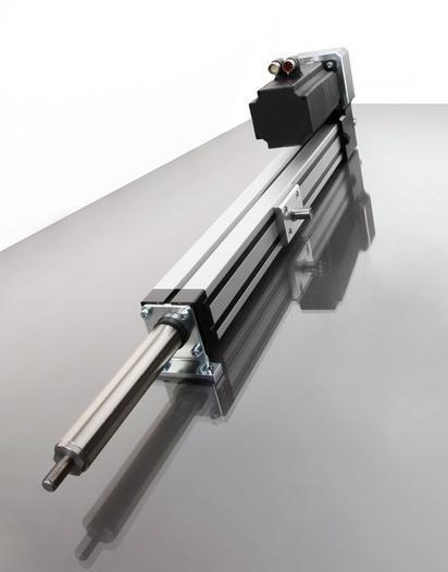Electrocilindros - Cilindros lineales eléctricos como alternativa a los sistemas neumáticos/hidrául