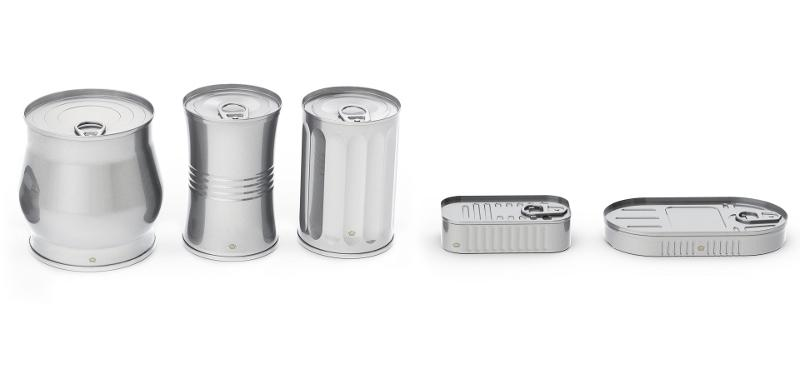 Food Cans - Shaped Cans