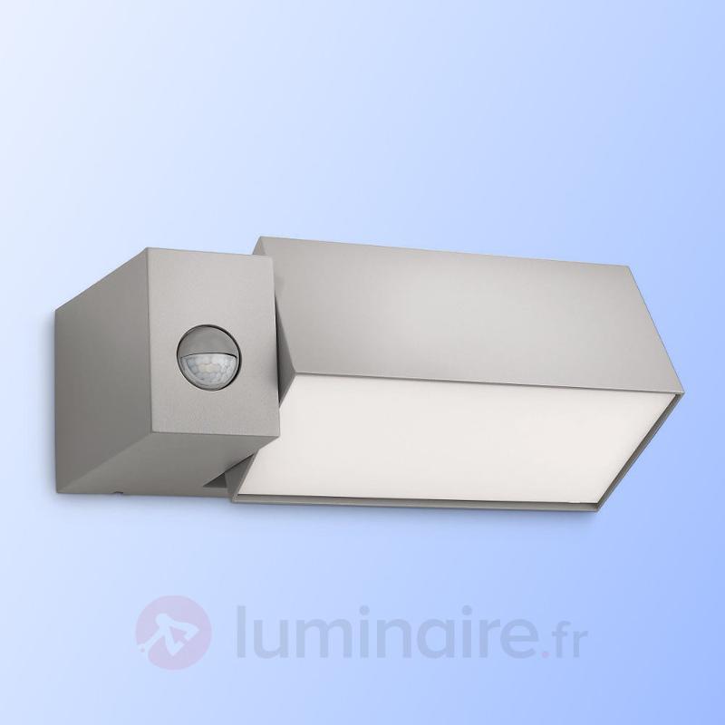 Applique d'extérieur Border grise à détecteur - Appliques d'extérieur avec détecteur