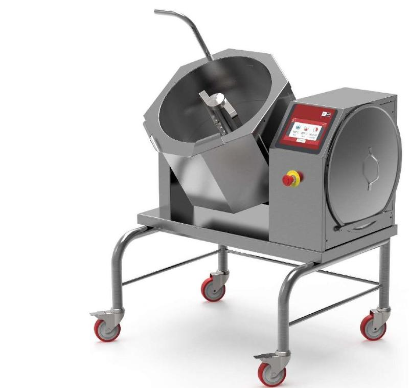 Cuiseur à sucre pour fabrication caramel et confitures - Mélangeur cuiseur à chauffage électrique pour caramel et confitures - CBTE030
