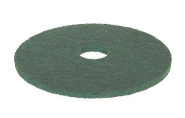 """5 Disques Verts 17"""" - Nettoyage - Accessoires autolaveuses"""