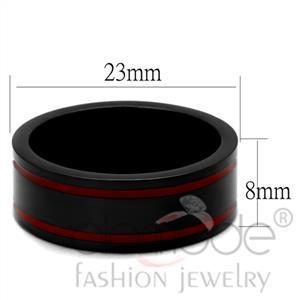 Fashion Rings - Stainless Steel Epoxy Ring
