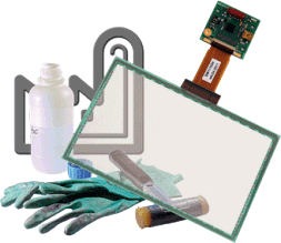 Standard kapazitive Touchscreen - Kapazitive Touchscreens