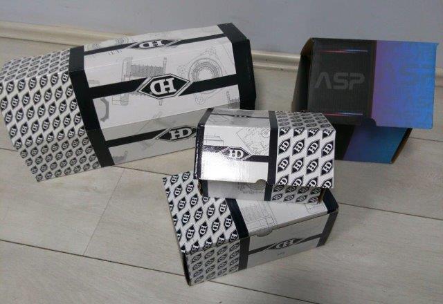 Imballaggio di cartone ondulato - Imballaggio in cartone ondulato con stampa offset