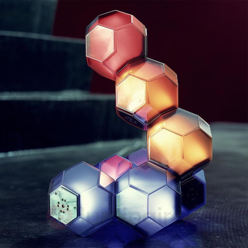Lampe de table LED insolite Crystal - Lampes à poser LED