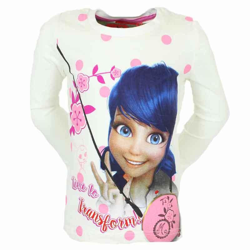 Distributor kids clothing T-shirt Miraculous - T-shirt and polo long sleeve
