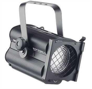 Halogen spotlights - LDR Suono F 650 Plus black